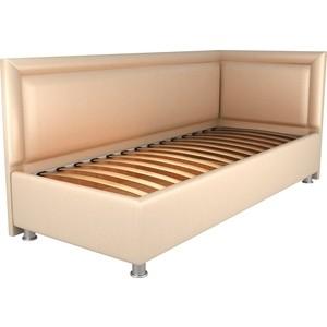 Кровать OrthoSleep Барби бисквит ортопед.основание 80х200 правый угол диван кровать смк дюссельдорф 147 б 2д у1пф правый угол 352 alba ash