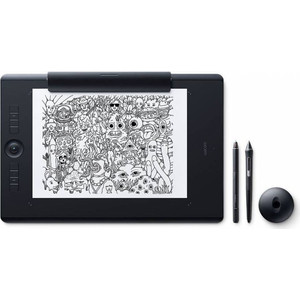 Графический планшет Wacom Intuos Pro Paper PTH-860P-R wacom intuos pro large paper black графический планшет corel painter 2018