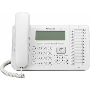 Системный телефон Panasonic KX-DT546RU системный телефон panasonic kx dt521rub