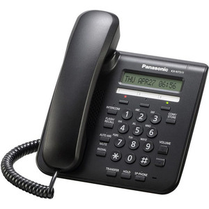 IP-телефон Panasonic KX-NT511PRUB ip телефон panasonic kx nt511prub