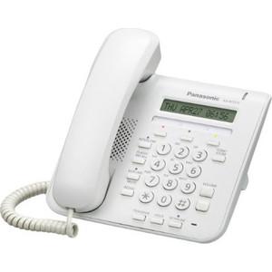 IP-телефон Panasonic KX-NT511PRUW белый блок расширения panasonic kx ns520ru
