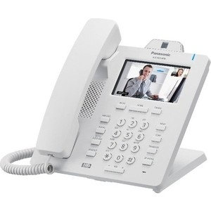 SIP-телефон Panasonic KX-HDV430RU белый panasonic kx ts2356 белый