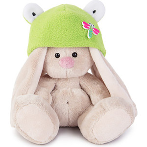 Мягкая игрушка Budi Basa Зайка Ми в шапке-лягушка (малыш) (SidX-147)