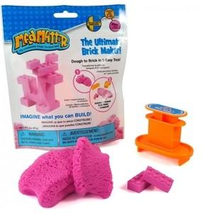 Масса для лепки Mad Mattr The Ultimate Brick Maker Pink (розовый) (220-201)