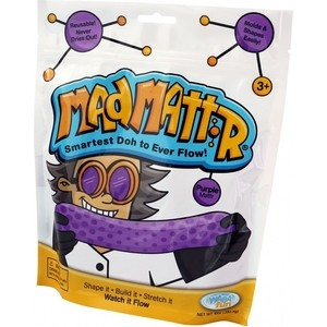 Масса для лепки Mad Mattr Purple (фиолетовый) (210-500) масса для лепки candy clay набор круассан