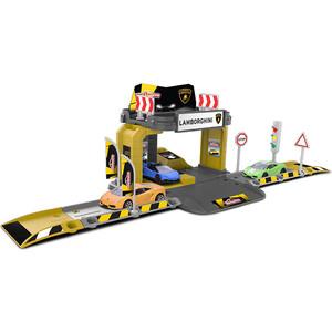 Игровой набор Majorette Парковка Creatix Lamborghini, 1 машинка (2050003) машины majorette городской автобус