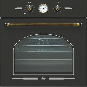 Электрический духовой шкаф Teka HR 650 AG B кухонная вытяжка teka dvt 680 b black