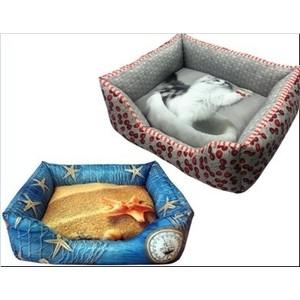 Лежанка PerseiLine 3D ОТ КУТЮР №3 50*40*16см цвета в ассортименте для кошек и собак (ЛД-300) домик perseiline кошка для кошек 38 40 40 см 00025 дмс 4
