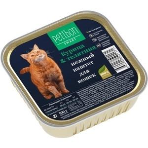 Консервы Petibon Smart курица & телятина нежный паштет для кошек 100г (317201003) for asus u46e heatsink cooling fan cooler