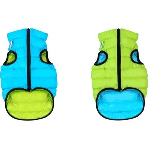 Курточка CoLLaR AiryVest двухсторонняя салатово-голубая размер L 65 для собак (1637) курточка collar airyvest двухсторонняя салатово голубая размер l 65 для собак 1637