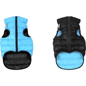Курточка CoLLaR AiryVest двухсторонняя черно-голубая размер L 65 для собак (1639) курточка collar airyvest двухсторонняя салатово голубая размер l 65 для собак 1637