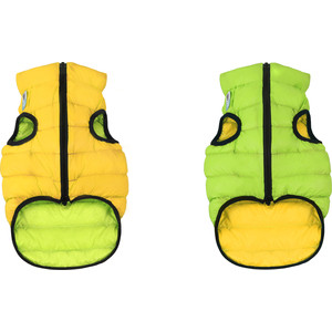 Курточка CoLLaR AiryVest двухсторонняя салатово-желтая размер L 65 для собак (1645) курточка collar airyvest двухсторонняя салатово голубая размер l 65 для собак 1637