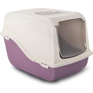 Фотография товара туалет MP-Bergamo Ariel закрытый с угольным фильтром для кошек 57*39*38см цвета в ассортименте (87497) (809653)