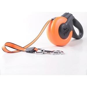 Рулетка Fida Ranger Mars M шнур 5м оранжевая/черная для собак до 25кг поводки triol поводок рулетка размер m 5м до 25кг лента
