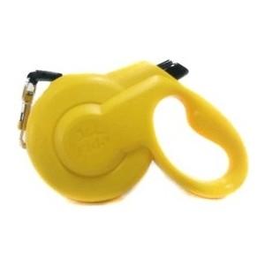 Рулетка Fida Ranger Styleash S шнур 5м желтая для собак до 15кг поводки triol поводок рулетка