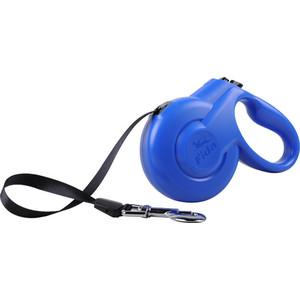 Рулетка Fida Ranger Styleash S лента 5м голубая для собак до 15кг рулетка fida ranger styleash l лента 5м красная для собак до 50кг