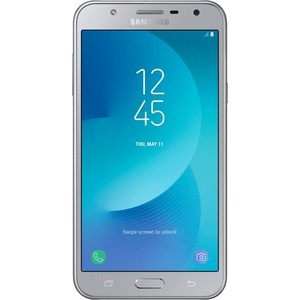 Смартфон Samsung Galaxy J7 Neo SM-J701F 16Gb DS Silver смартфон samsung galaxy j7 2017 16gb black