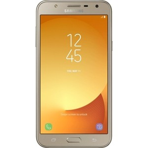 Смартфон Samsung Galaxy J7 Neo SM-J701F 16Gb DS Gold смартфон samsung galaxy j7 sm j710f white