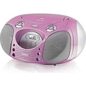 Магнитола BBK BX110U pink/silver