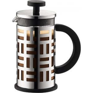 Френч-пресс 0.35 л Bodum Eileen хром (11198-16) bodum кофейник с прессом eileen 0 35 л 8х13х15 8 см хром 11198 16 bodum
