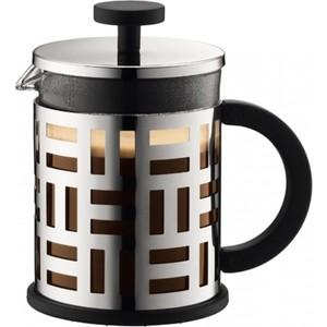 Френч-пресс 0.5 л Bodum Eileen хром (11196-16) bodum кофейник с прессом eileen 0 35 л 8х13х15 8 см хром 11198 16 bodum