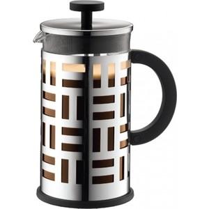 Френч-пресс 1 л Bodum Eileen хром (11195-16) кофейник bodum eileen с прессом 1 л 11195 01