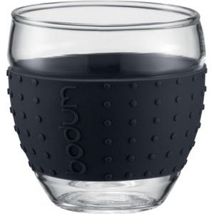 Набор кружек 0.35 л 2 штуки Bodum Pavina черный (11185-01)