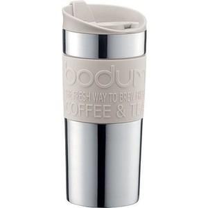 Термокружка 0.35 л Bodum Travel белая (11068-913) термокружка laplaya vacuum travel mug 0 4 л белая 560058