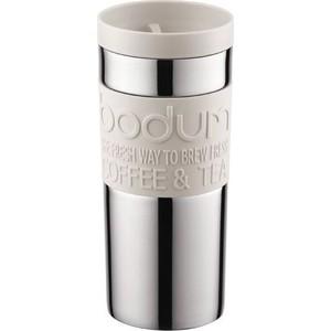 Термокружка 0.35 л Bodum Travel белая (11093-913) термокружка laplaya vacuum travel mug 0 4 л белая 560058