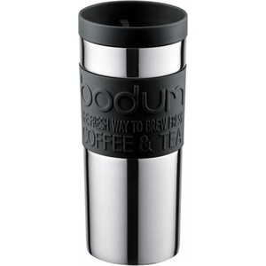Термокружка 0.35 л Bodum Travel черная (11093-01) bodum термокружка travel 0 35 л белая
