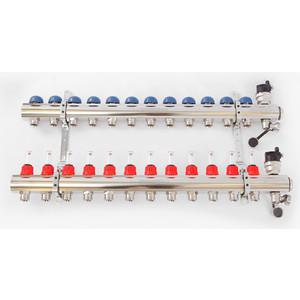 Коллекторная группа EMMETI TOPWAY 1х3/4 12 выходов с расходомерами (1298230) коллекторная группа emmeti topway 1х3 4 7 выходов с расходомерами 1298220