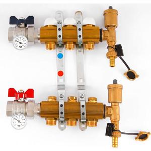 Коллекторная группа Tiemme 1х3/4х18 с концевыми группами 3 выходов (3870030) cxa l0612 vjl cxa l0612a vjl vml cxa l0612a vsl high pressure plate inverter