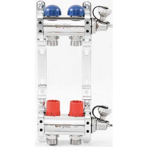 Коллекторная группа Uni-Fitt 1х3/4 2 выходов с регулировочными и термостатическими вентилями (441E4302)