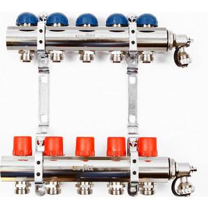 Коллекторная группа Uni-Fitt 1х3/4 5 выходов с регулировочными и термостатическими вентилями (441E4305) электросамокат ezip e 4 5
