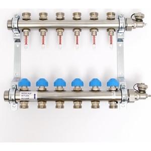 Коллекторная группа Uni-Fitt Н 1х3/4 6 выходов с расходомерами и термостатическими вентилями (455W4306) плащ и маска штурмовик uni
