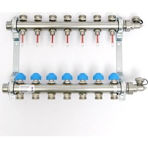 Коллекторная группа Uni-Fitt Н 1х3/4 7 выходов с расходомерами и термостатическими вентилями (455W4307) плащ и маска штурмовик uni
