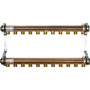Коллекторная группа WATTS Ind HKV/A-11 1-3/4х18 нерегулируемый 11 выходов (10004556) watts коллектор для радиаторной разводки hkv a 3
