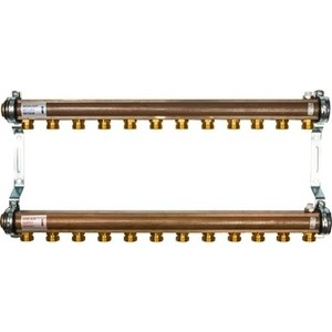 Коллекторная группа WATTS Ind HKV/A-12 1-3/4х18 нерегулируемый 12 выходов (10004558) watts коллектор для радиаторной разводки hkv a 3