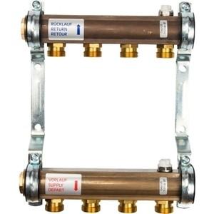 Коллекторная группа WATTS Ind HKV/A-4 1-3/4х18 нерегулируемый 4 выходов (10004542) watts вентиль вв 3 4 баланс ду 20