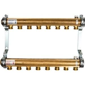 Коллекторная группа WATTS Ind HKV/A-8 1-3/4х18 нерегулируемый 8 выходов (10004550) watts коллектор для радиаторной разводки hkv a 3
