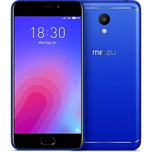 Смартфон Meizu M6 16GB Blue смартфон meizu m6 16gb blue