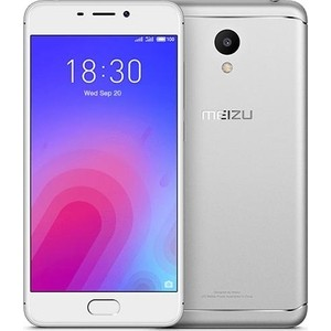 Смартфон Meizu M6 16Gb Silver смартфон meizu mx5 16gb silver white