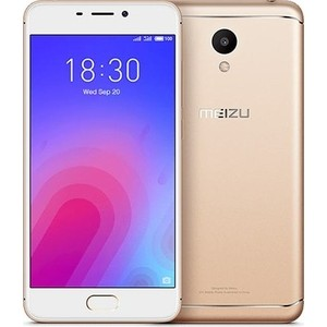 Смартфон Meizu M6 32GB Gold сотовый телефон meizu m6 32gb gold