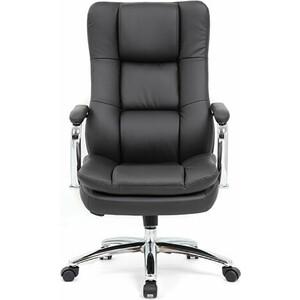 Кресло офисное Brabix Amadeus EX-507 экокожа хром черное 530879 кресло офисное brabix heavy duty hd 001 экокожа 531015