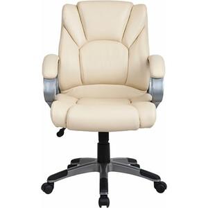 Кресло офисное Brabix Eldorado EX-504 экокожа бежевое 531167 кресло офисное brabix heavy duty hd 001 экокожа 531015