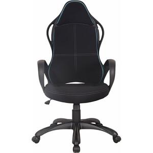 Кресло офисное Brabix Force EX-516 ткань черное/вставки синие 531572 кресло офисное brabix heavy duty hd 001 экокожа 531015