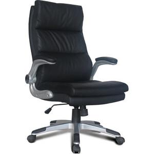 Кресло офисное Brabix Fregat EX-510 рециклированная кожа черное 530863 кресло офисное brabix heavy duty hd 001 экокожа 531015
