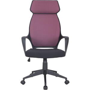 Кресло офисное Brabix Galaxy EX-519 ткань черное/терракотовое 531570