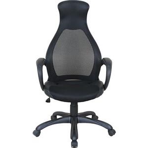 Кресло офисное Brabix Genesis EX-517 пластик черный ткань/экокожа/сетка черная 531574