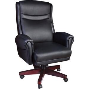 Кресло офисное Brabix Gladiator EX-700 дерево натуральная кожа черное 530872 кресло офисное brabix heavy duty hd 001 экокожа 531015